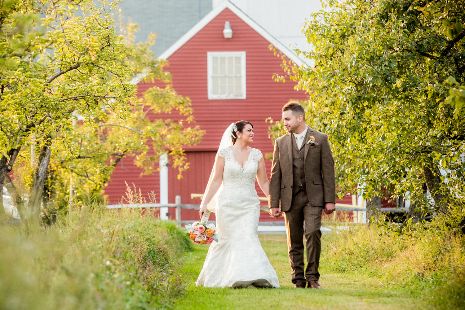 Ashley & JP - Smith Barn Peabody Wedding