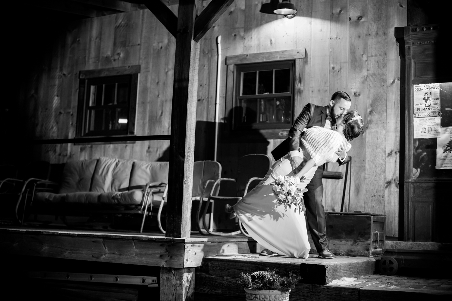 Erin & Tucker - Pitman's Freight Room Wedding