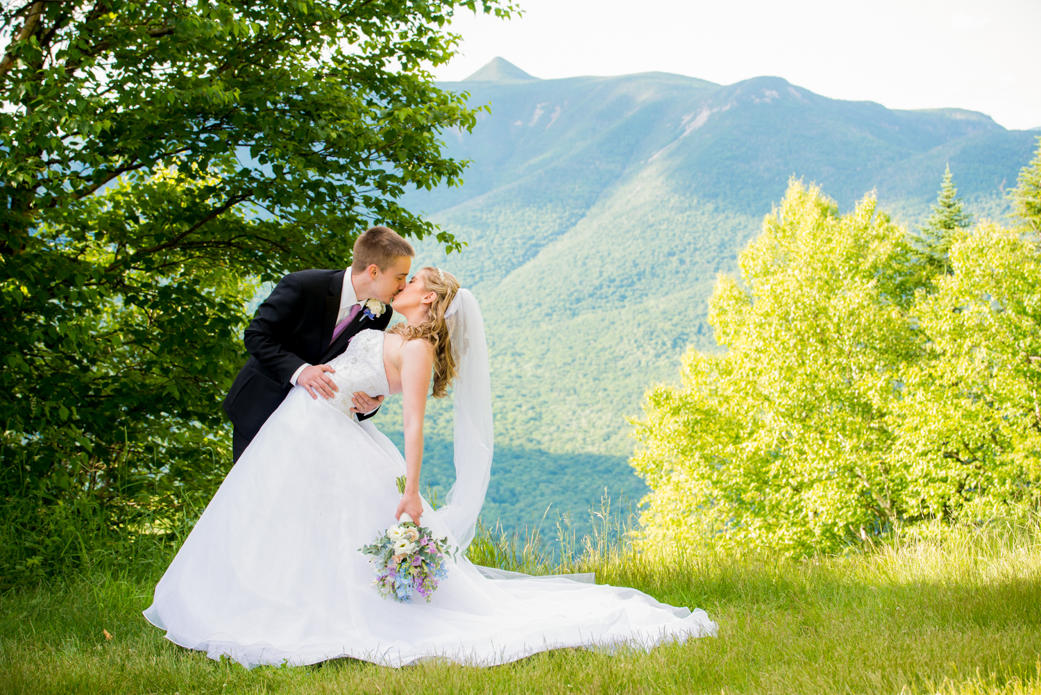 Kristin & Brian - Loon Mountain Wedding