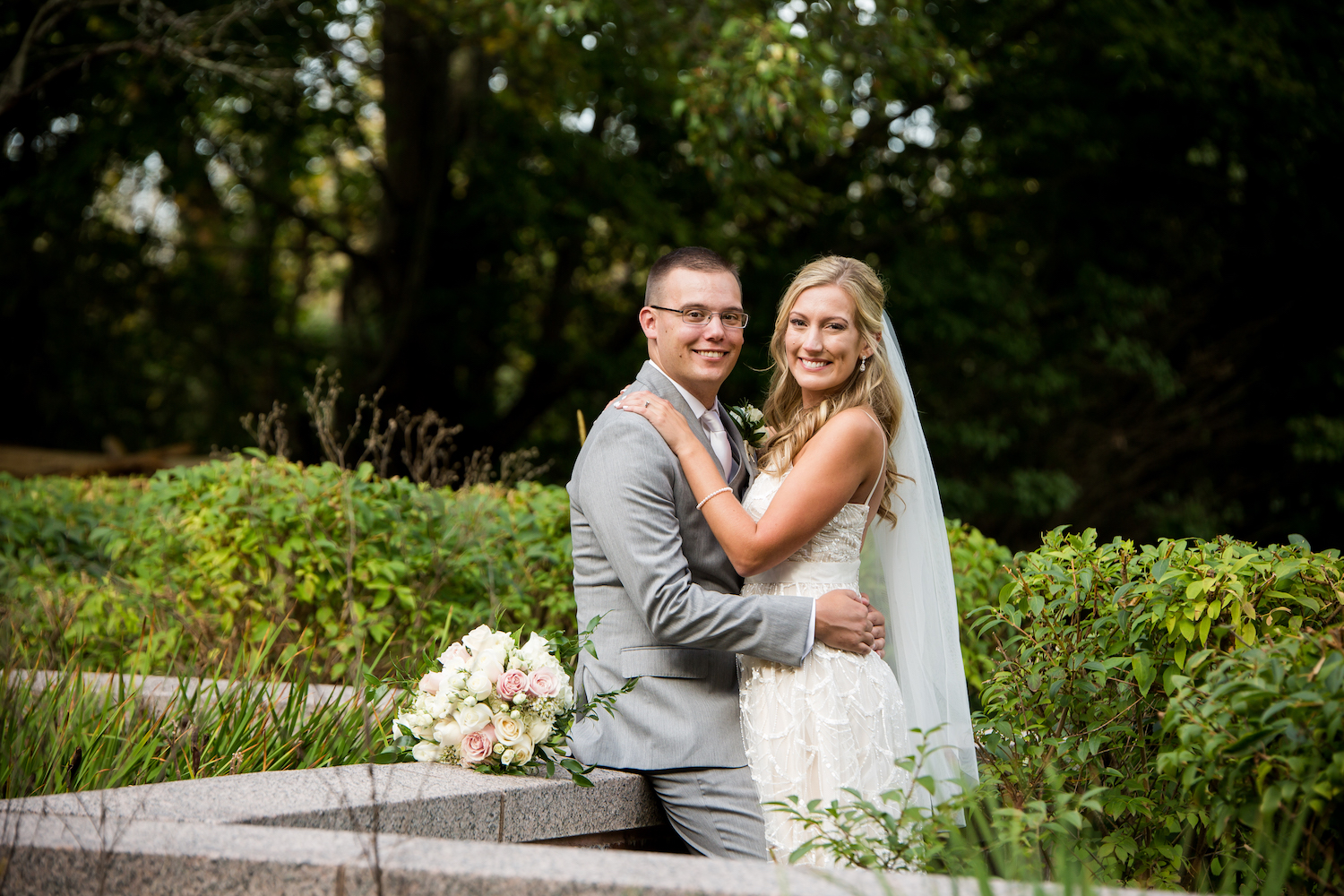 Kendra & Mike - Hilton Boston Dedham Wedding