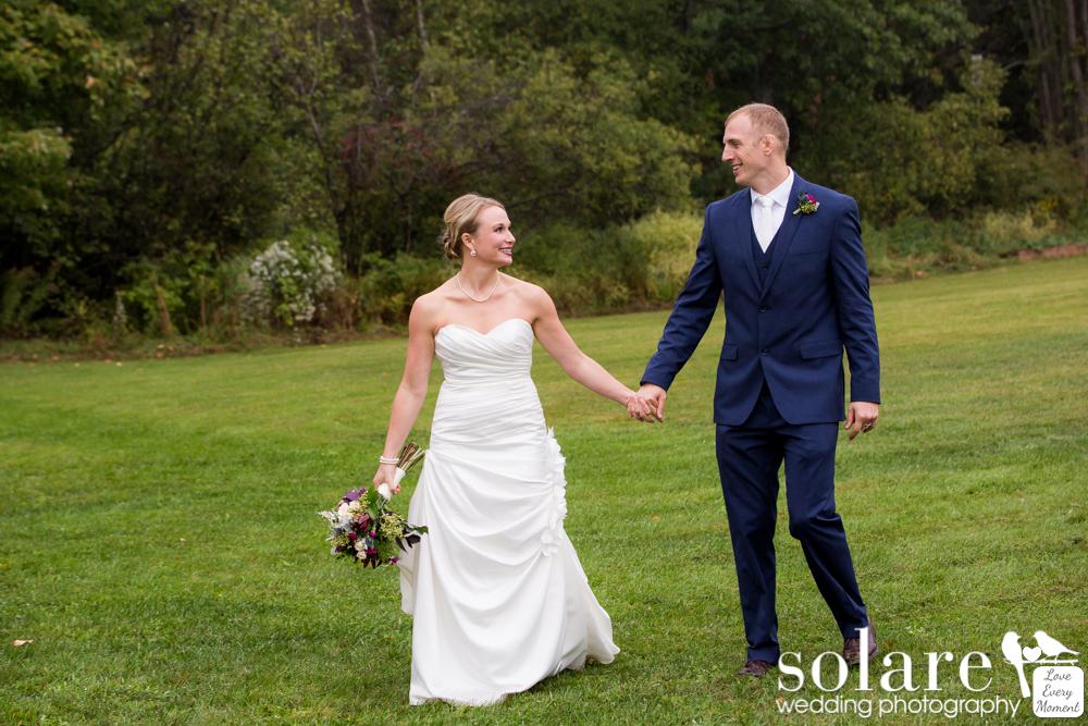 Fitz Farm Wedding Bride and Groom Portraits