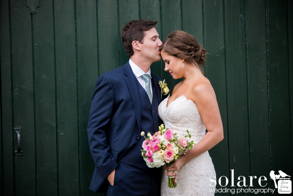 Hussey Family Farm Wedding in Vermont Bride and Groom Portraits