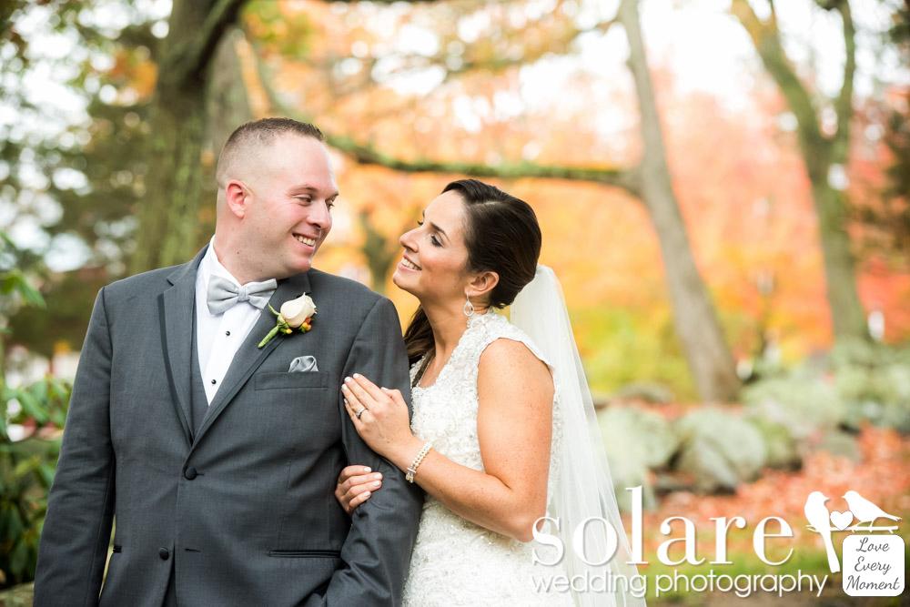 Warren Conference Center Wedding Ashland MA bride and groom portraits