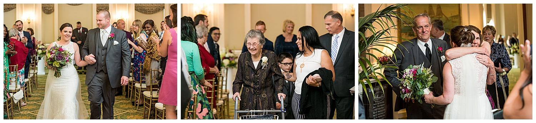 Hawthorne Hotel Wedding - indoor ceremony
