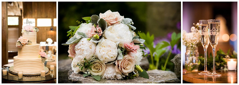 Birch Wood Vineyards Wedding Reception Details