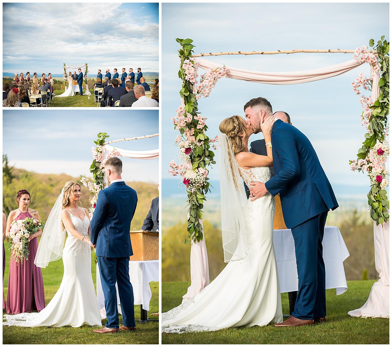 Steele Hill Resort Wedding Ceremony