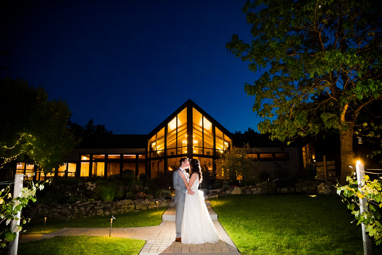 Birch Wood Vineyards Wedding Photo