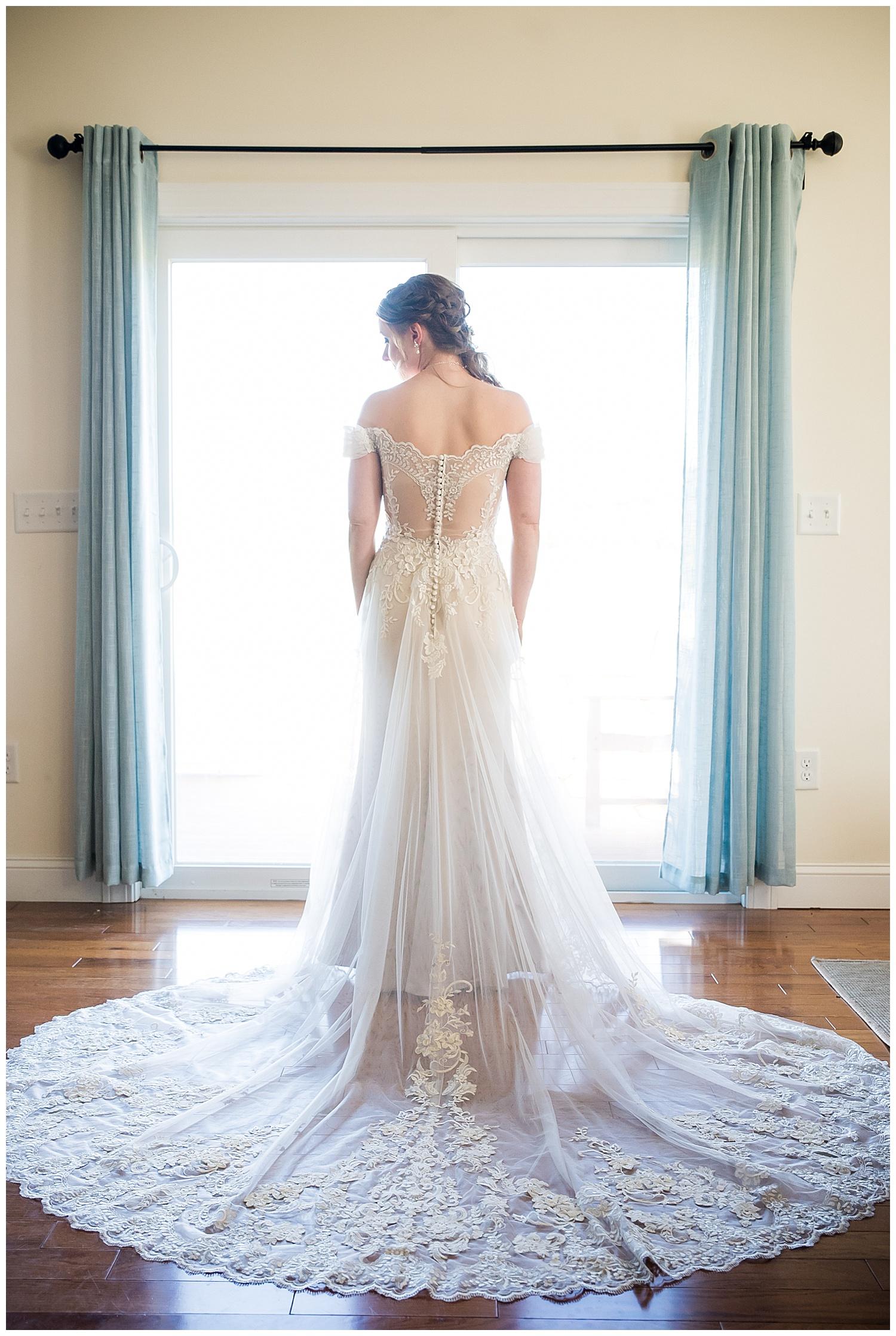 Owl's Nest White Mountain Wedding - Bridal Portrait