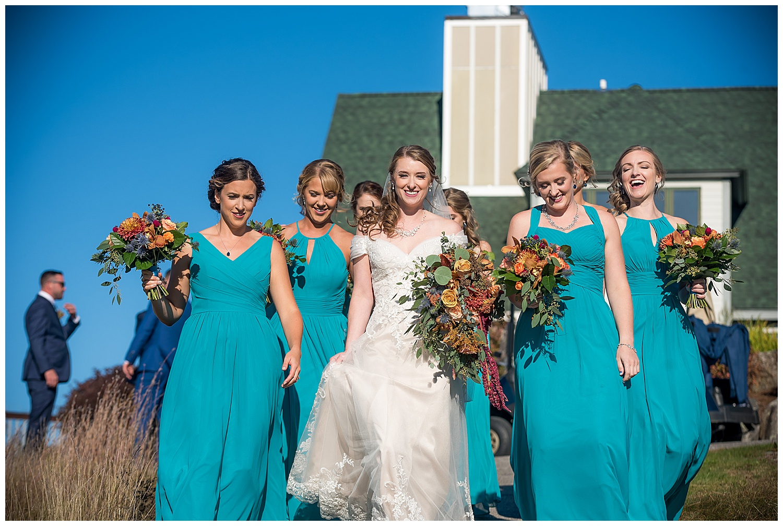 Owl's Nest White Mountain Wedding - Wedding Party