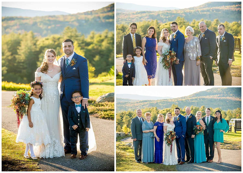 Owl's Nest White Mountain Wedding - Family in the Mountains