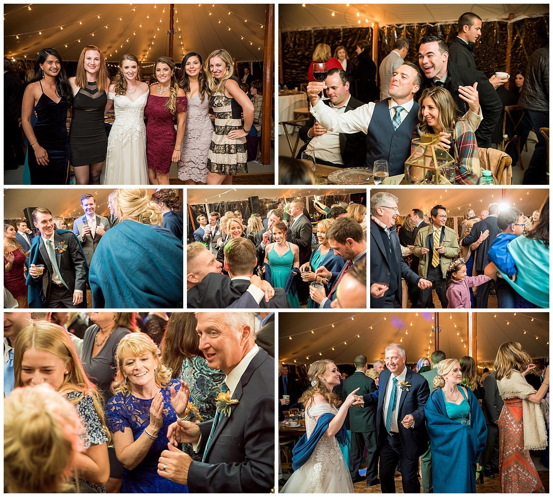 Owl's Nest White Mountain Wedding - Reception Photos