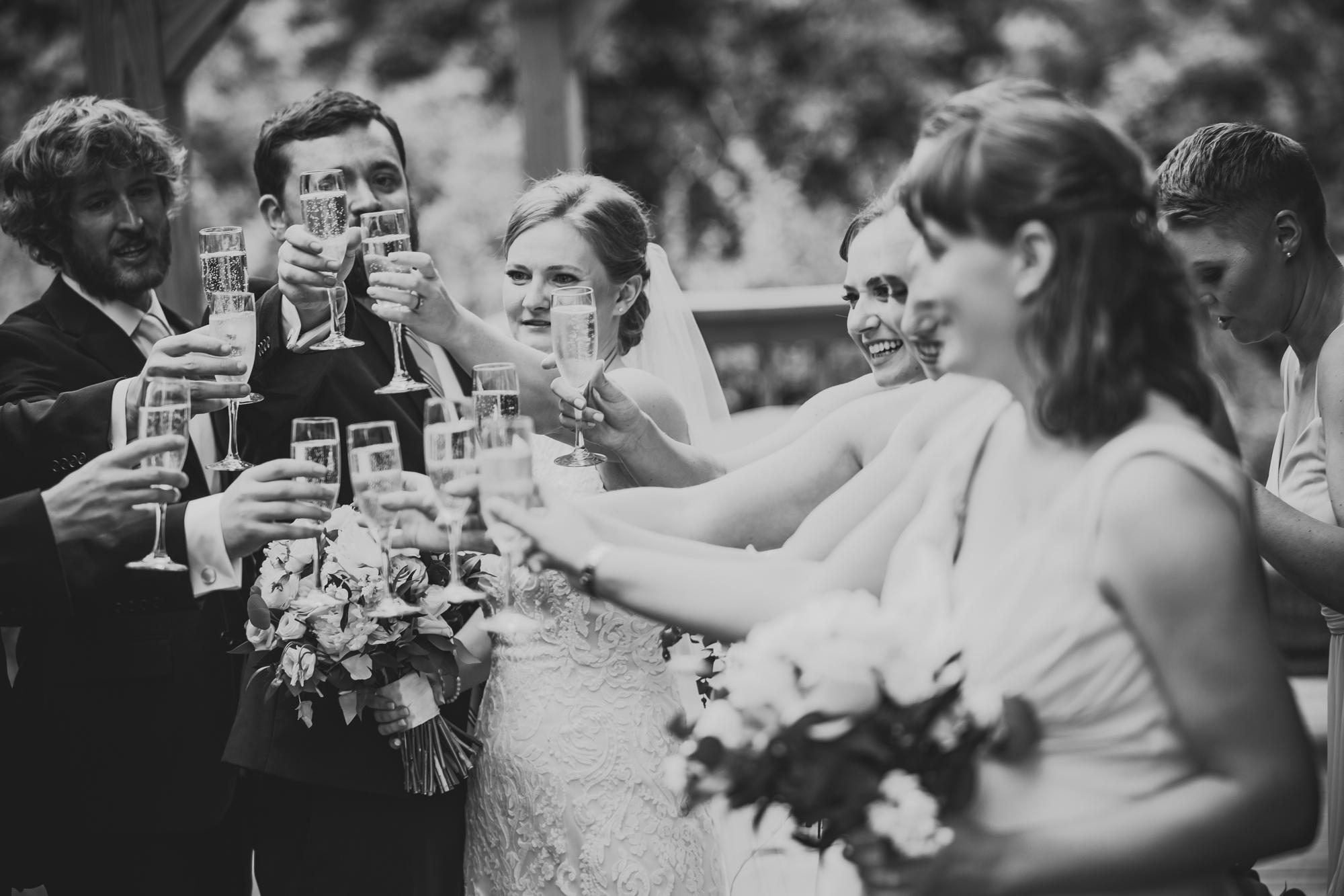 Caroline Chris Backyard Wedding